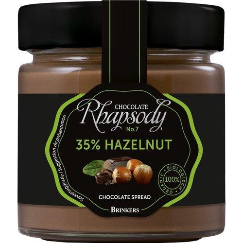 Brinkers Chocopasta 35% Hazelnoot Biologisch