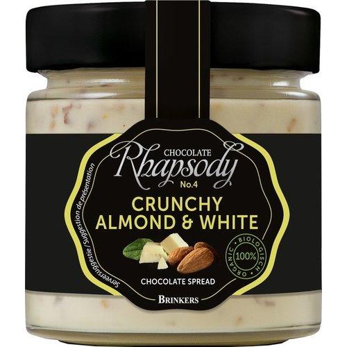 Brinkers Chocopasta Almond & White Biologisch
