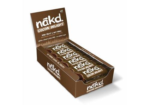 Nakd Cocoa Delight Doos 18 stuks ( THT 07-10-2019)