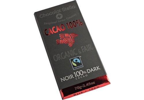 Chocolat Stella Chocoladereep Puur 100% Biologisch