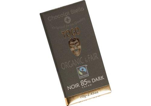 Chocolat Stella Chocoladereep Togo 85% Puur Biologisch
