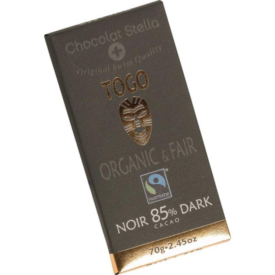 Chocoladereep Togo 85% Puur Biologisch
