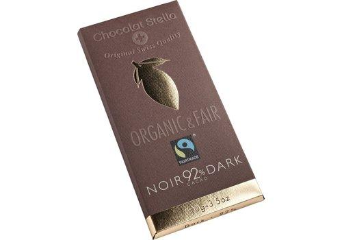 Chocolat Stella Chocoladereep 92% Puur Biologisch Fairtrade