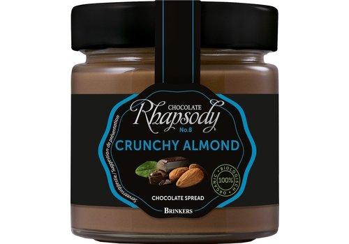 Brinkers Chocopasta Crunchy Almond Biologisch
