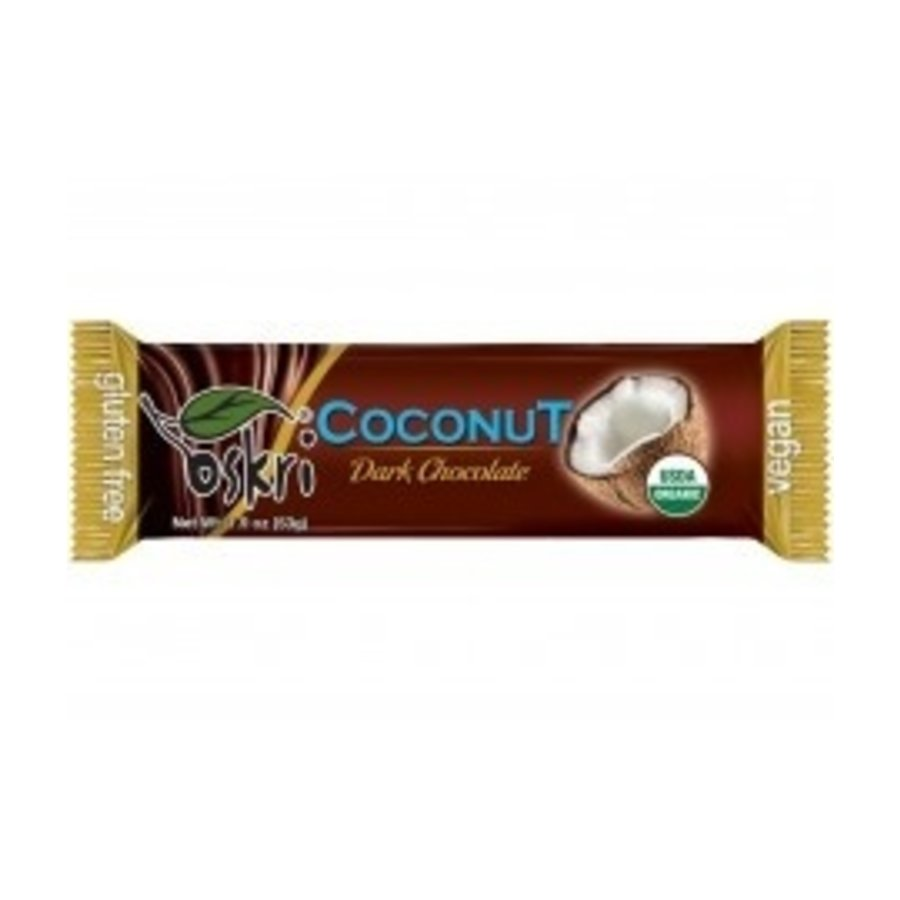 Kokosreep met Donkere Chocolade
