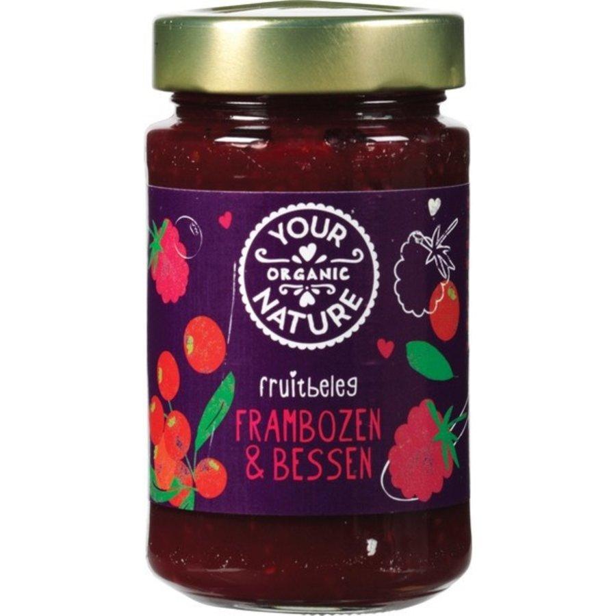 Frambozen-Bessen Fruitbeleg
