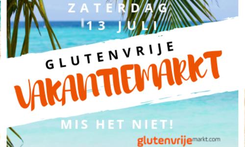 Glutenvrije Vakantiemarkt 13 juli 2019!