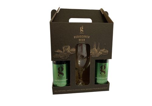 Green's Great Discovery Amber Geschenkverpakking + Glas
