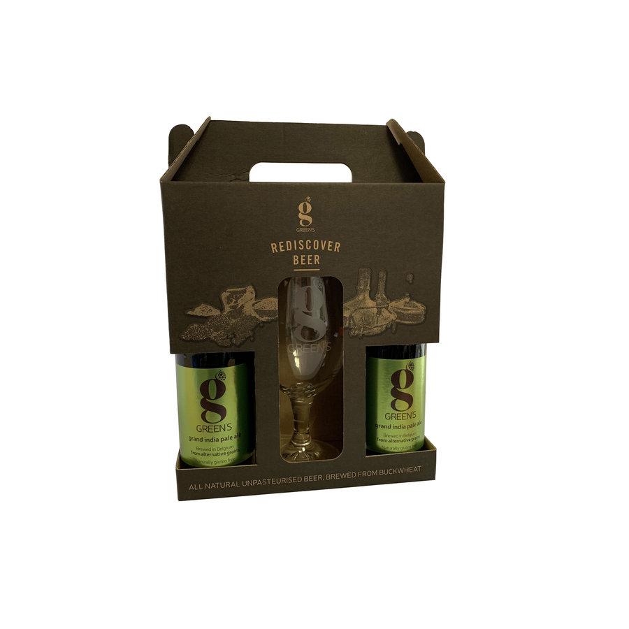 Grand India Pale Ale Geschenkverpakking + Glas