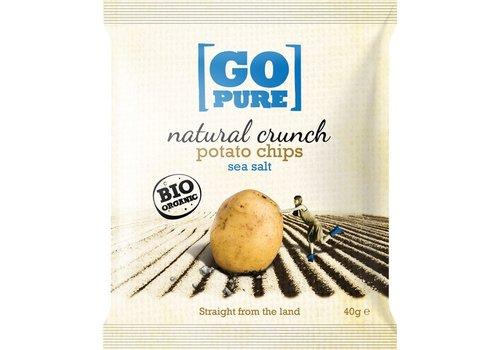 GoPure Natural Crunch Potato Chips Salted Biologisch  (Klein)