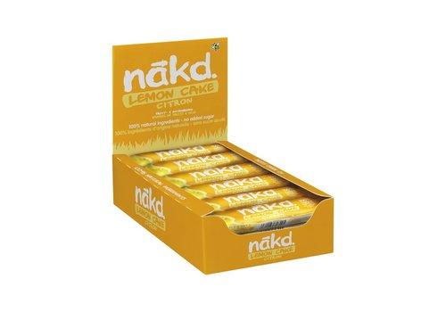 Nakd Lemon Cake bar Doos 18 Stuks (THT 5-5-2020)