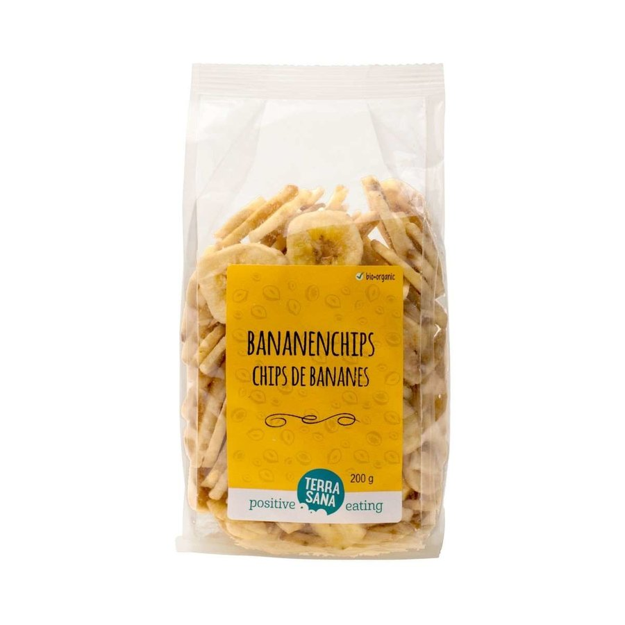 Bananenchips Biologisch