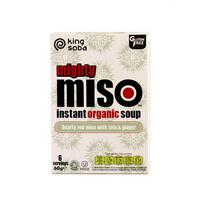Instant Miso Soep Rode Miso met Tofu en Gember Biologisch