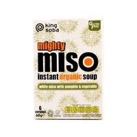 Instant Miso Soep Witte Miso met Pompoen en Groente Biologisch
