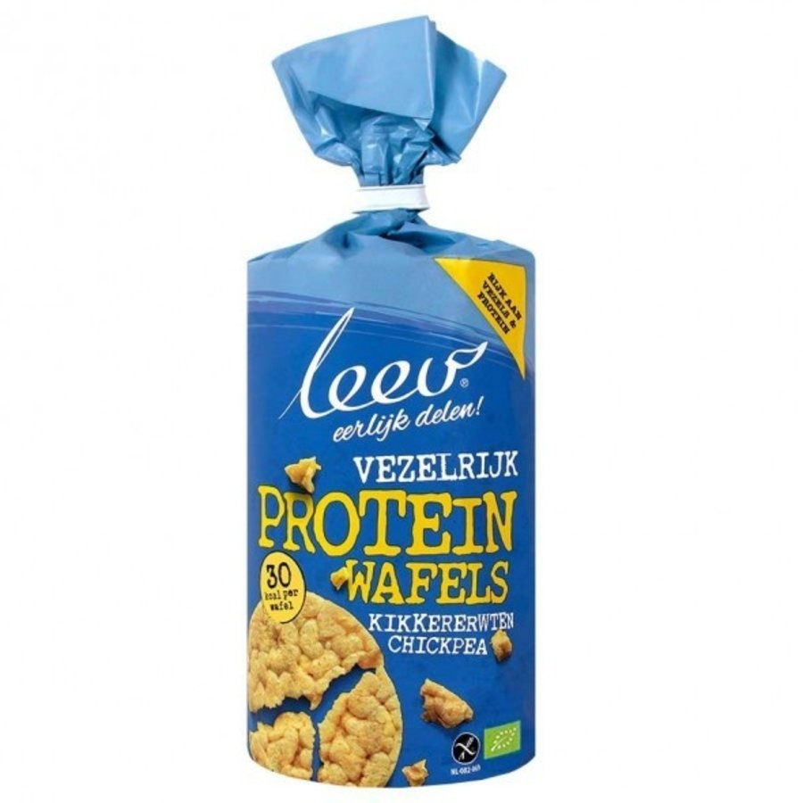 Proteïnewafels Vezelrijk Biologisch