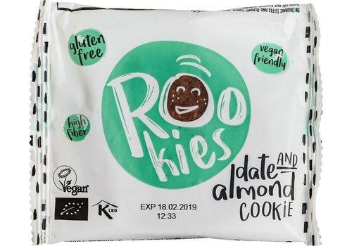 Rookies Date & Almond Cookie Biologisch (THT 25-04-20)