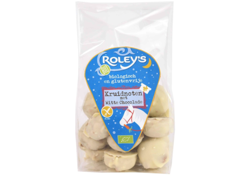Roley's Kruidnootjes in Witte Chocolade