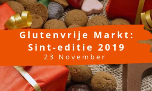 Wees erbij: De Glutenvrije Markt Sint-editie op zaterdag 23 november 2019!
