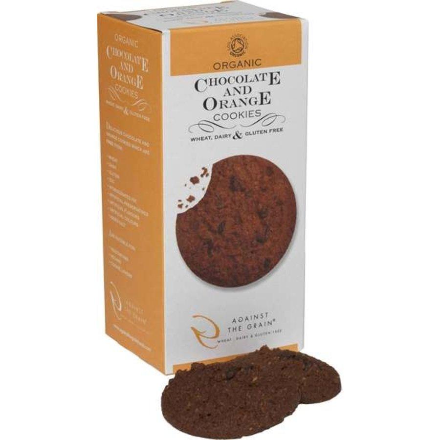 Chocolate & Orange Cookies Biologisch