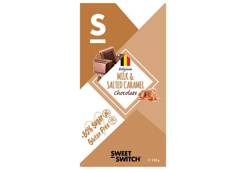 Sweet-Switch Milk & Salted Caramel Chocolate