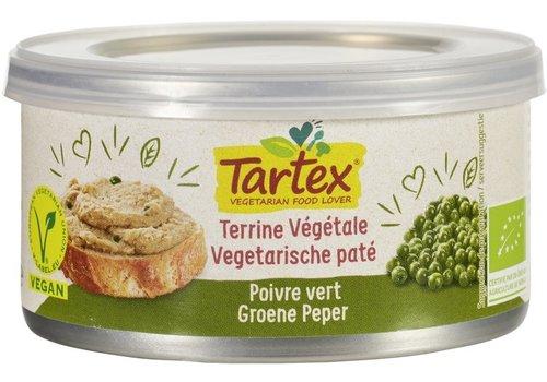 Tartex Vegetarische Paté Groene Peper Biologisch