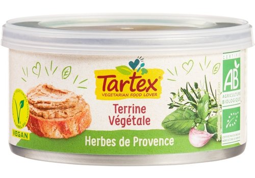 Tartex Vegetarische Paté Provencaalse Kruiden Biologisch