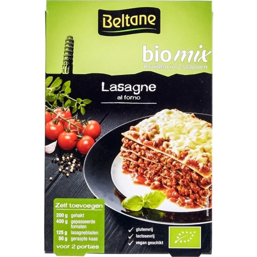 Lasagne Biologisch