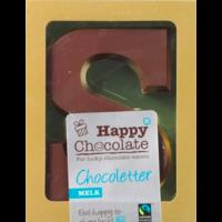 Chocoladeletter Melk Biologisch
