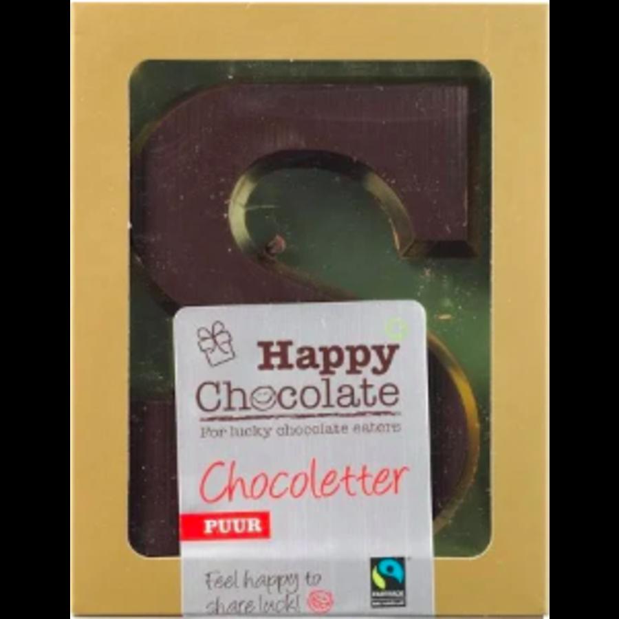 Chocoladeletter Puur Biologisch