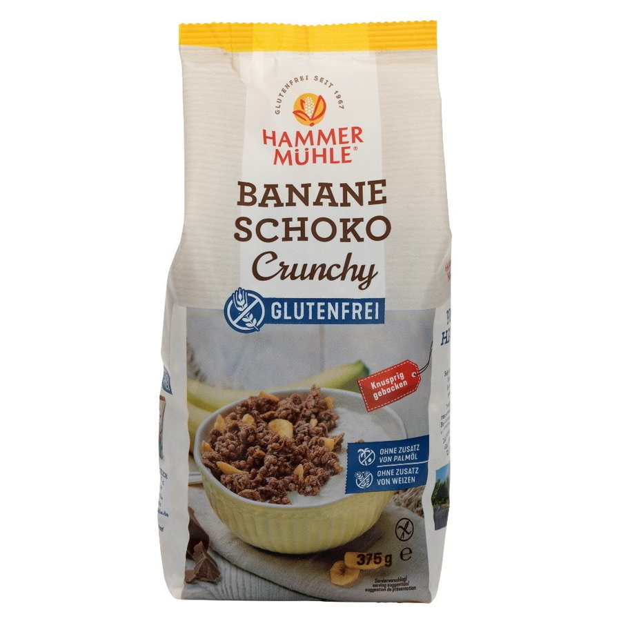 Crunchy Muesli Banaan Chocolade