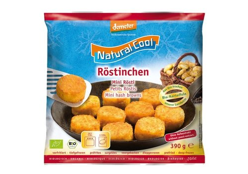 Natural Cool Diepvries Mini Rösti Biologisch