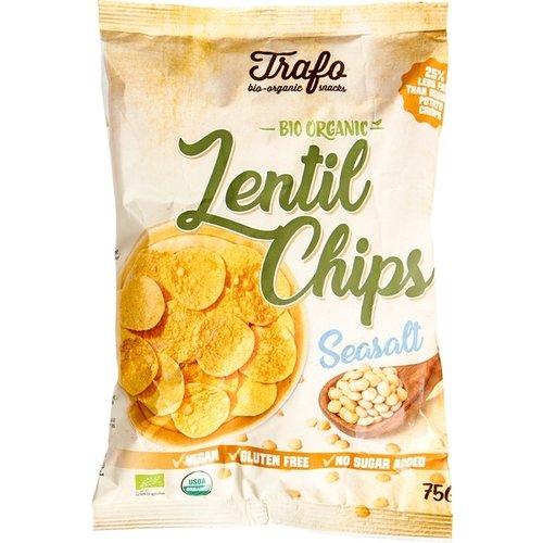 Trafo Lentil Chips Seasalt Biologisch