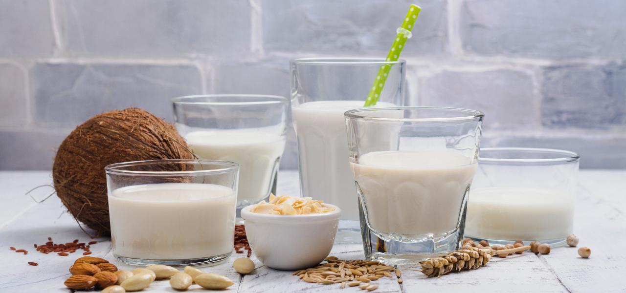 De voordelen van plantaardige melksoorten
