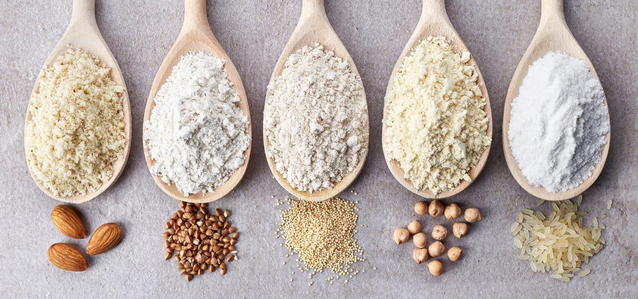 Glutenvrije meelsoorten vergeleken