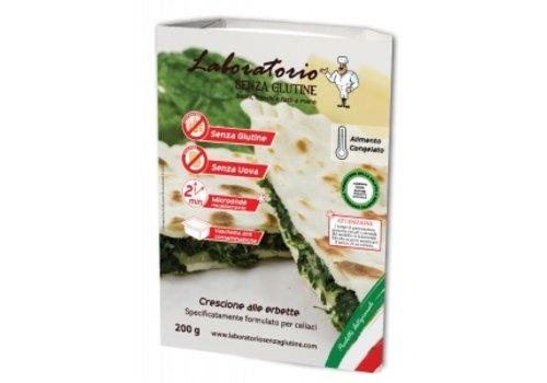 Laboratorio Senza Glutine Diepvries Crescione met Snijbiet en Kaas