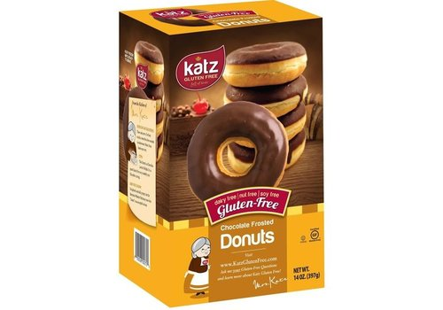 Katz Gluten Free Diepvries Donuts Chocoladeglazuur