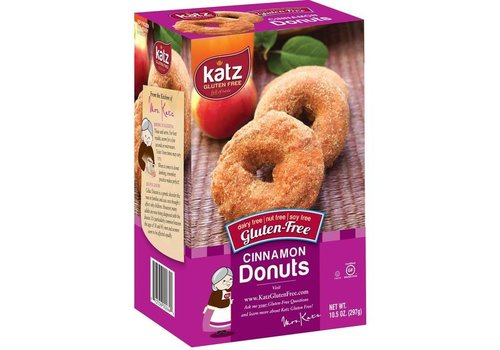 Katz Gluten Free Diepvries Donuts Kaneel