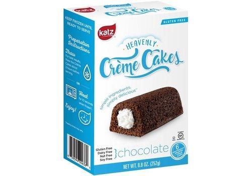 Katz Gluten Free Diepvries Crème Cakes Chocolade