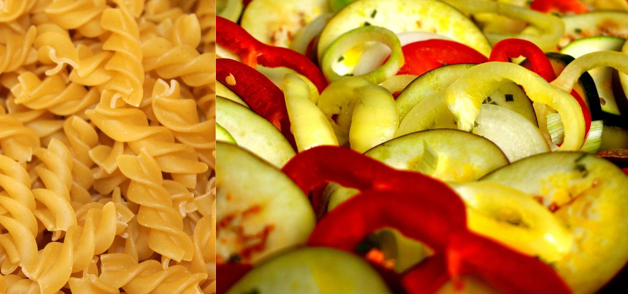 Recept: low FODMAP & glutenvrije pasta à la ratatouille