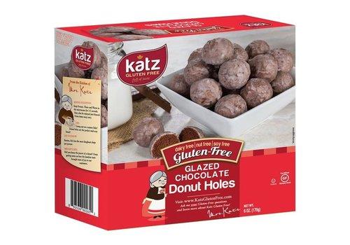 Katz Gluten Free Diepvries Donut Bolletjes Chocolade Vanilleglazuur