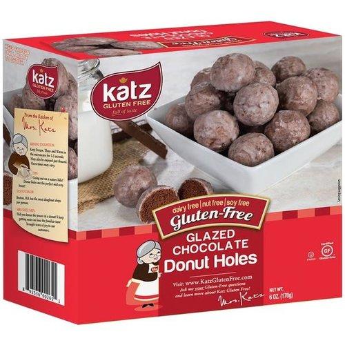 Katz Gluten Free Donut Bolletjes Chocolade Vanilleglazuur