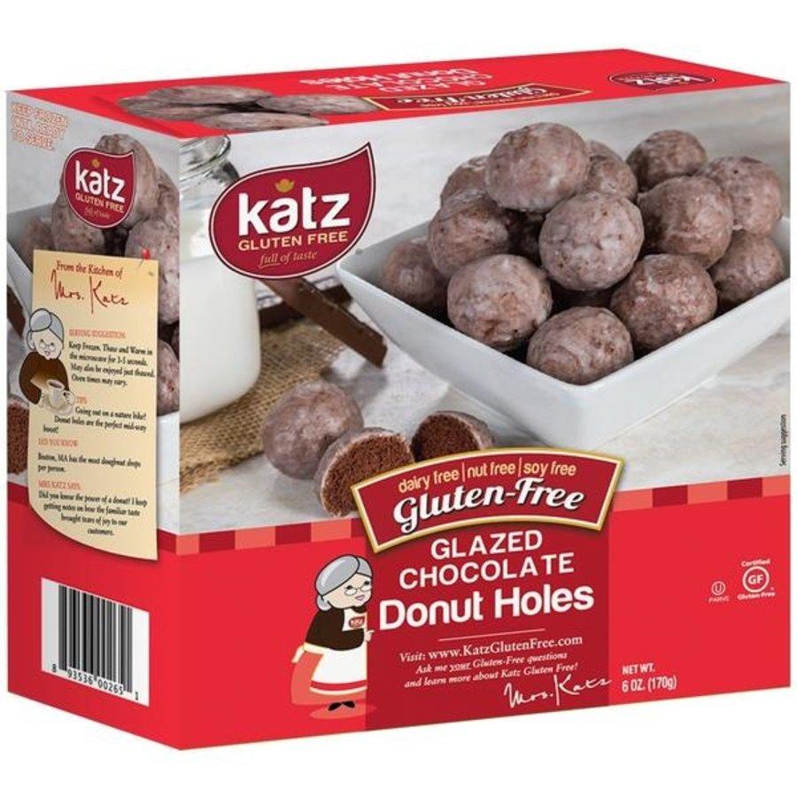 Donut Bolletjes Chocolade Vanilleglazuur
