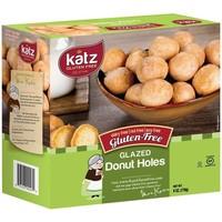 Donut Bolletjes Vanilleglazuur