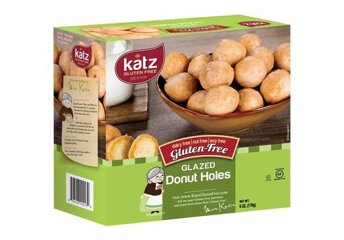 Katz Gluten Free Diepvries Donut Bolletjes Vanilleglazuur