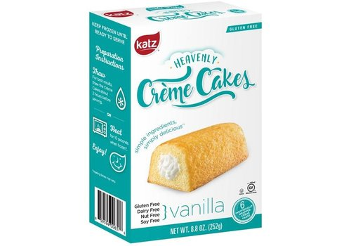 Katz Gluten Free Diepvries Crème Cakes Vanille