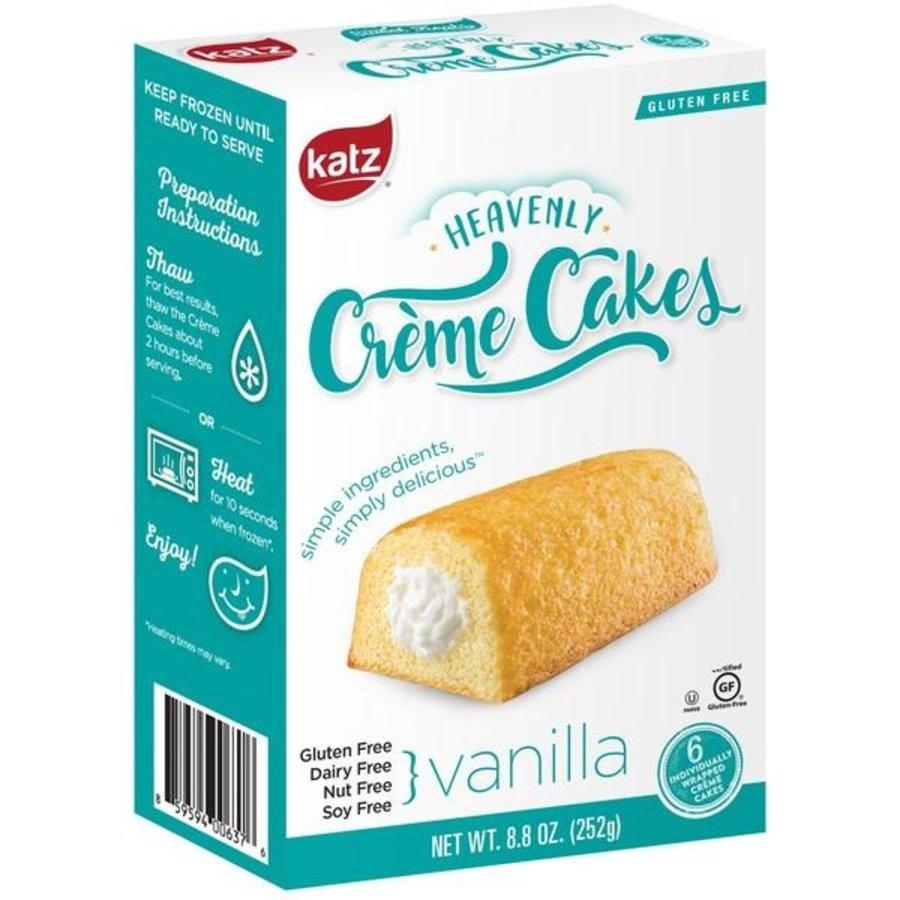Crème Cakes Vanille