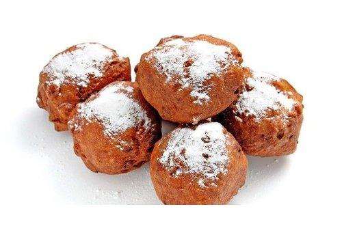 Glutenvrijemarkt.com Oliebollen met Rozijnen 4 Stuks