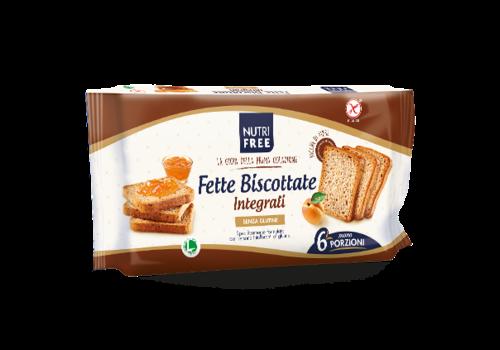Nutrifree Fette Biscottate Volkoren (Beschuitbroodjes) (THT 22-07-2020)