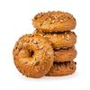 Happy Bakers Bagels Donker Meerzaden 4 stuks