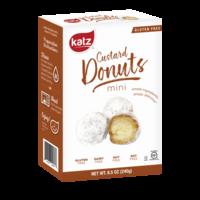 Mini Custard Donuts